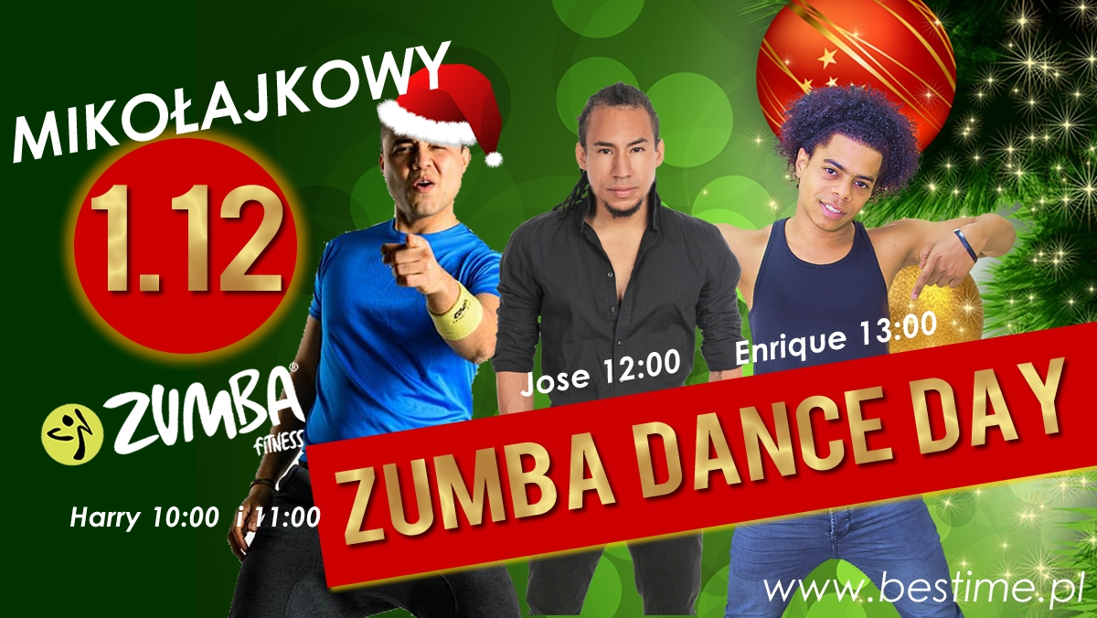 ZUMBA DANCE DAY 1 GRUDNIA
